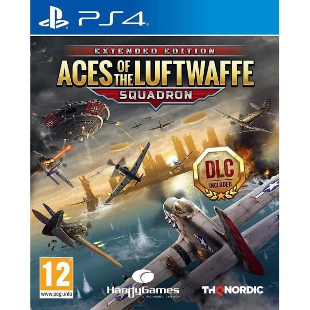 ACES OF THE LUFTWAFFE SQUADRON PS4 FR OCCASION