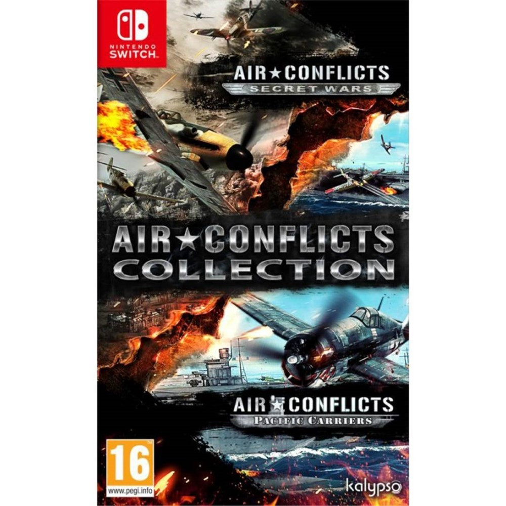 AIR CONFLICTS COLLECTION SWITCH PAL FR NEW