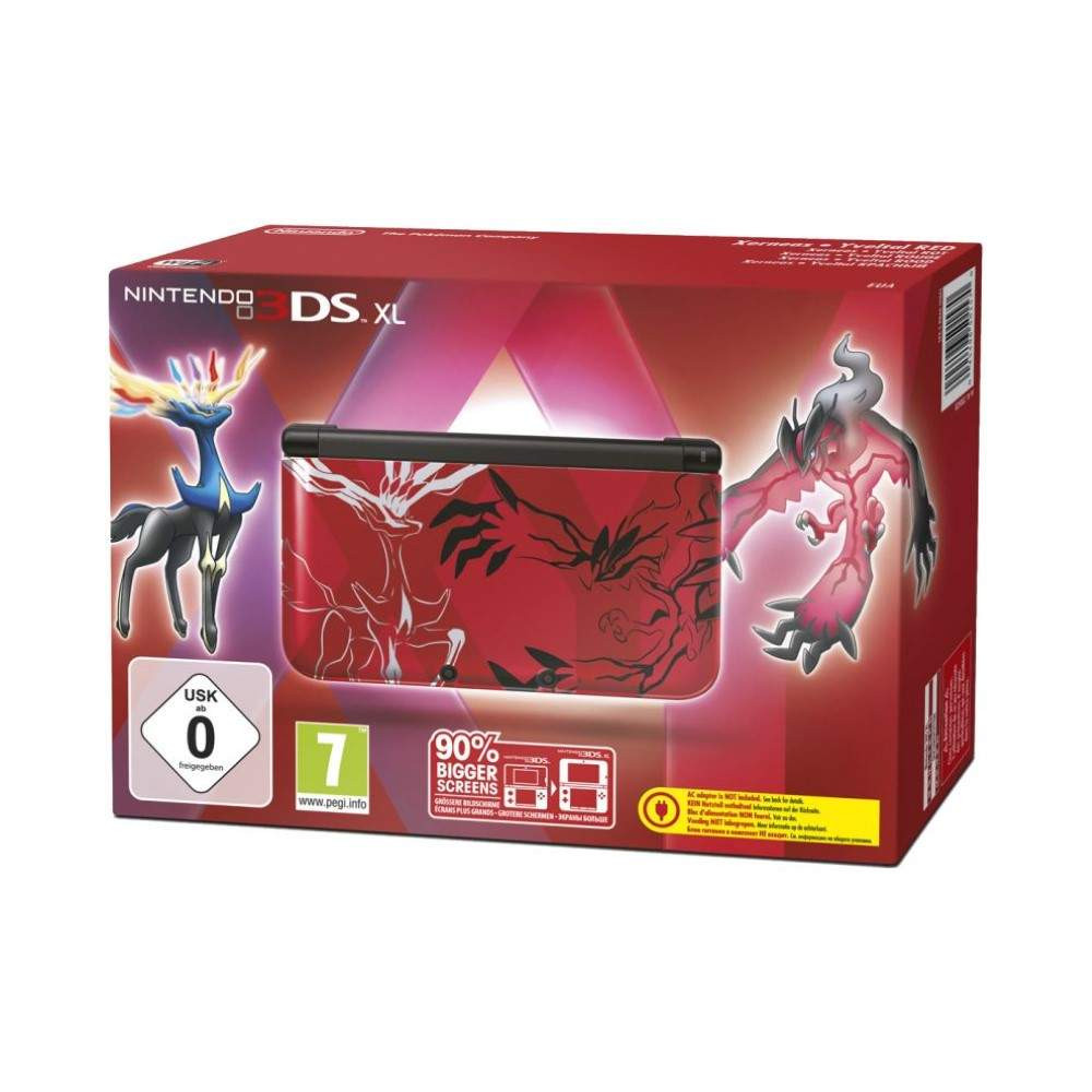 CONSOLE 3DS XL POKEMON ROUGE FR OCCASION
