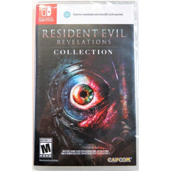 RESIDENT EVIL REVELATIONS COLLECTION SWITCH US NEW