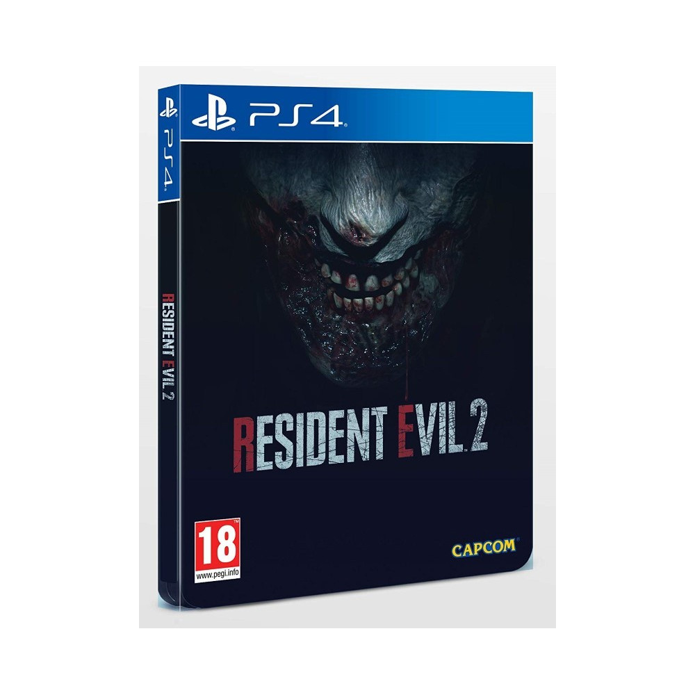 RESIDENT EVIL 2 STEELBOOK PS4 FR OCCASION
