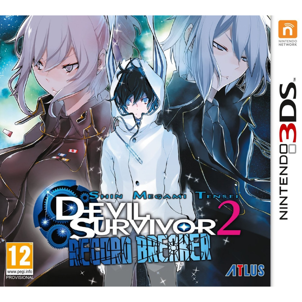 SHIN MEGAMI TENSEI SURVIVOR 2 RECORD BREAKER 3DS FR OCCASION