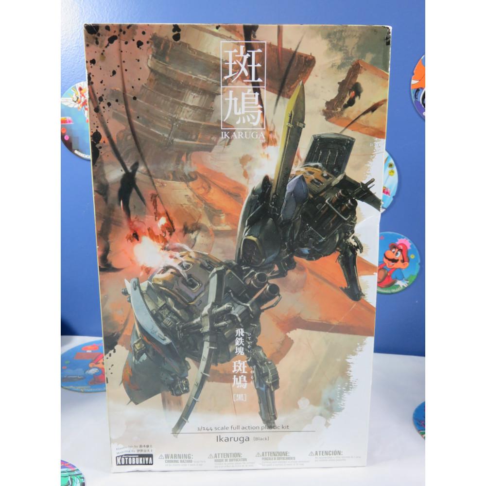 IKARUGA 1/144 SCALE FULL ACTION MODEL KIT IKARUGA (BLACK) JPN NEW