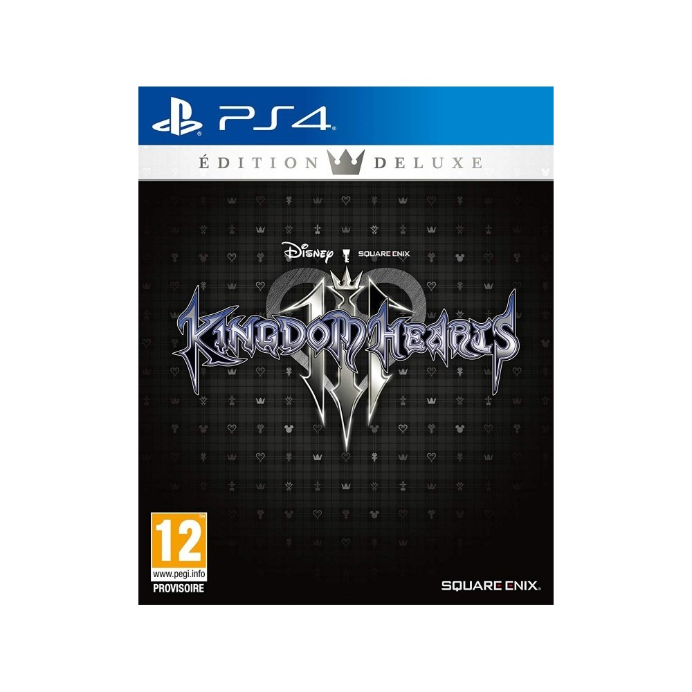 KINGDOM HEARTS 3 EDITION DELUXE PS4 FR OCCASION