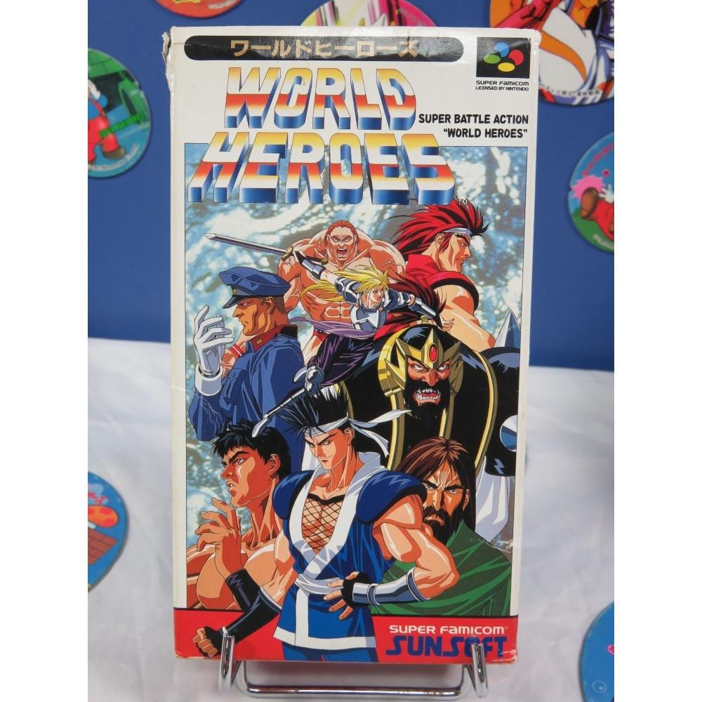 WORLD HEROES SUPER FAMICOM JPN OCCASION