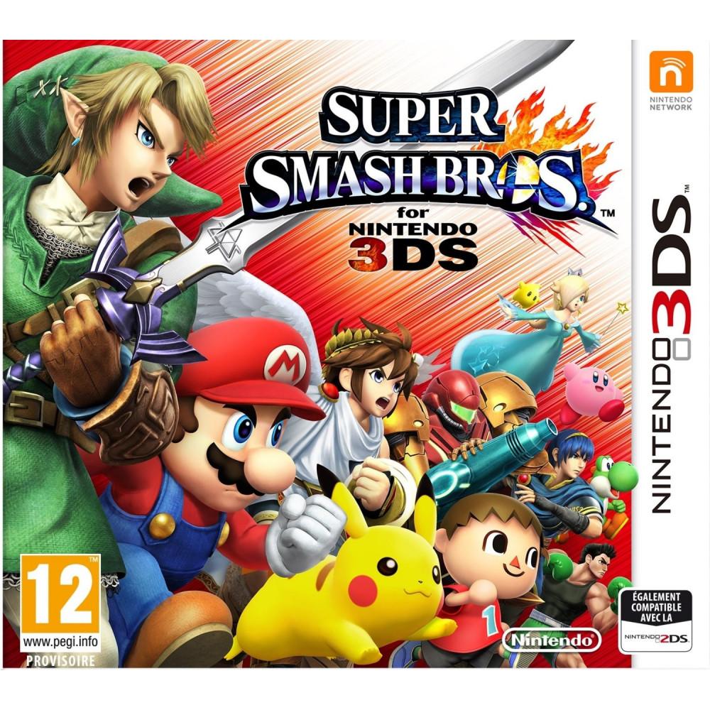 SUPER SMASH BROS 3DS ALLEMAND AVEC TEXTE EN FRANCAIS OCCASION