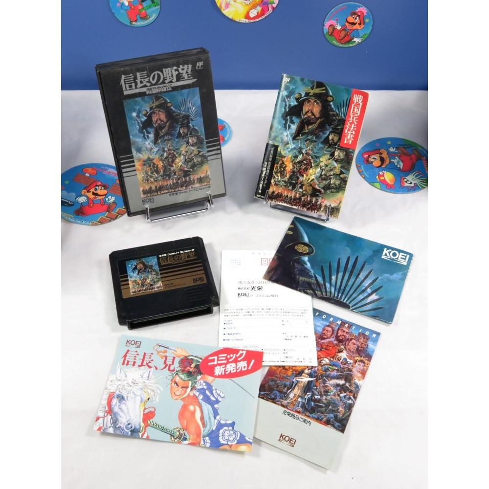 NOBUNAGA NO YABOU: SENGOKU GUNYUUDEN FAMICOM NTSC-JPN OCCASION
