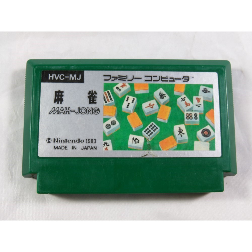 MAH-JONG FAMICOM NTSC-JPN LOOSE