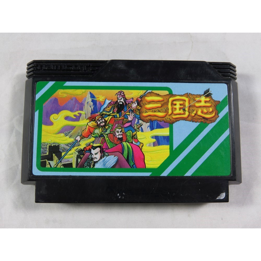 SANGOKUSHI - RECORDS OF THE THREE KINGDOMS FAMICOM NTSC-JPN LOOSE
