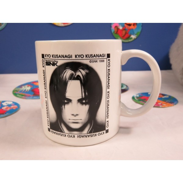 SNK 1998 KYO KUSANAGI (THE KING OF FIGHTERS) MUG JPN OCCASION