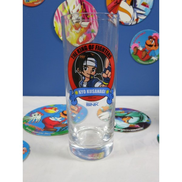 SNK 1998 KYO KUSANAGI (THE KING OF FIGHTERS) GLASS JPN OCCASION