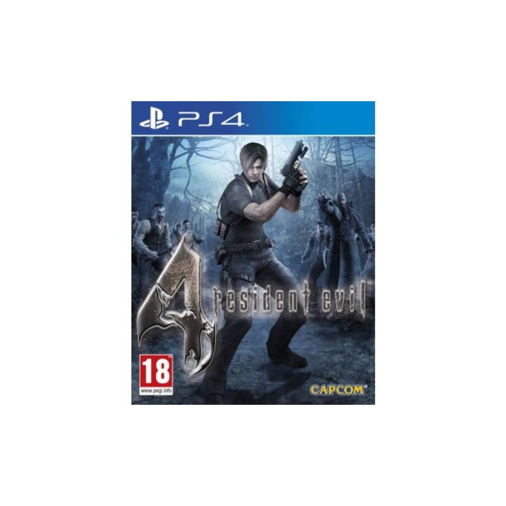 RESIDENT EVIL 4 HD PS4 UK OCCASION