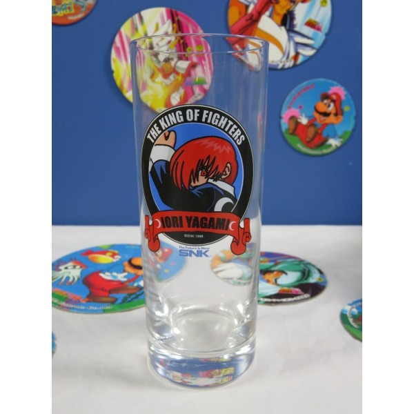 SNK 1998 IORI YAGAMI (THE KING OF FIGHTERS) GLASS JPN OCCASION