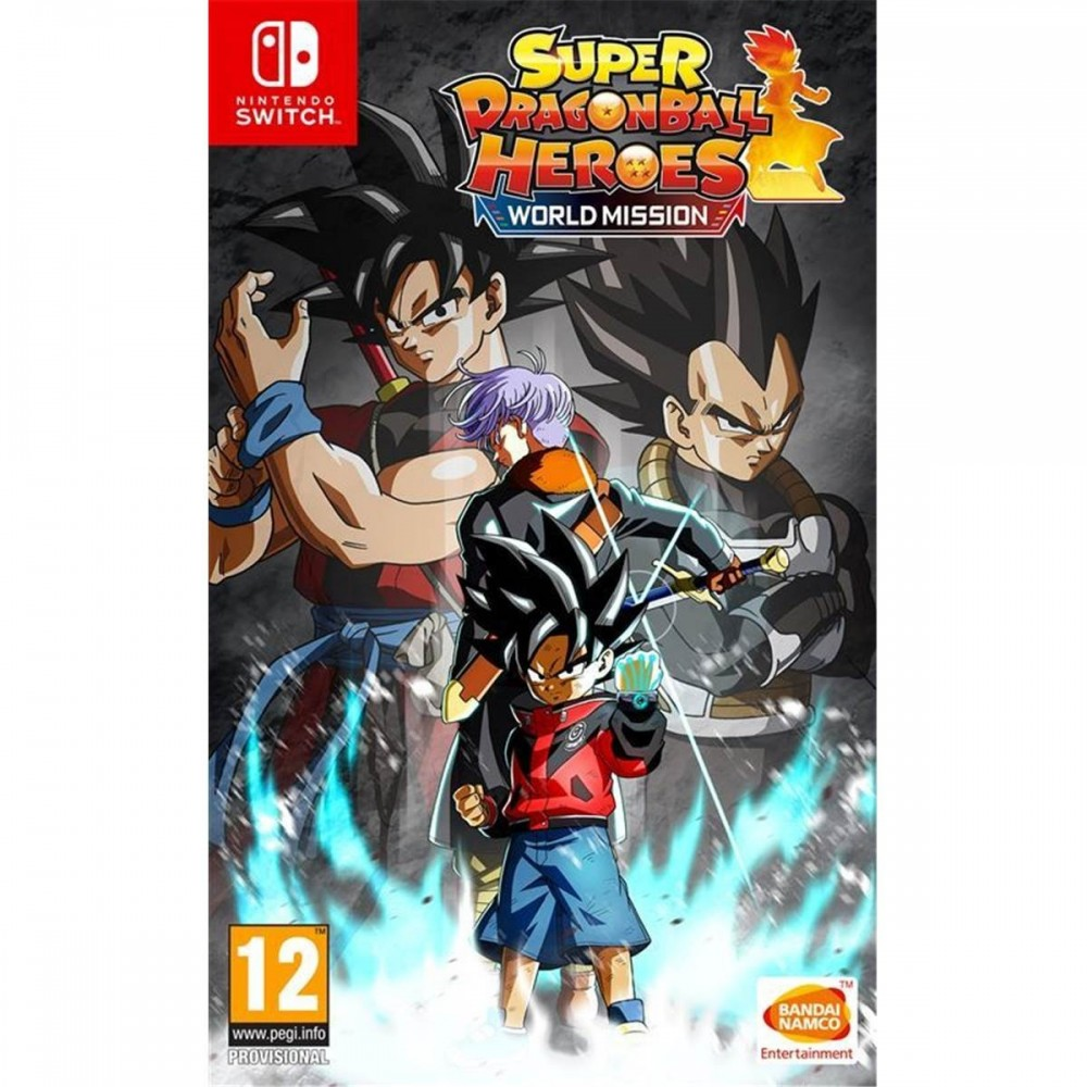 SUPER DRAGON BALL HEROES WORLD MISSION SWITCH FR OCCASION