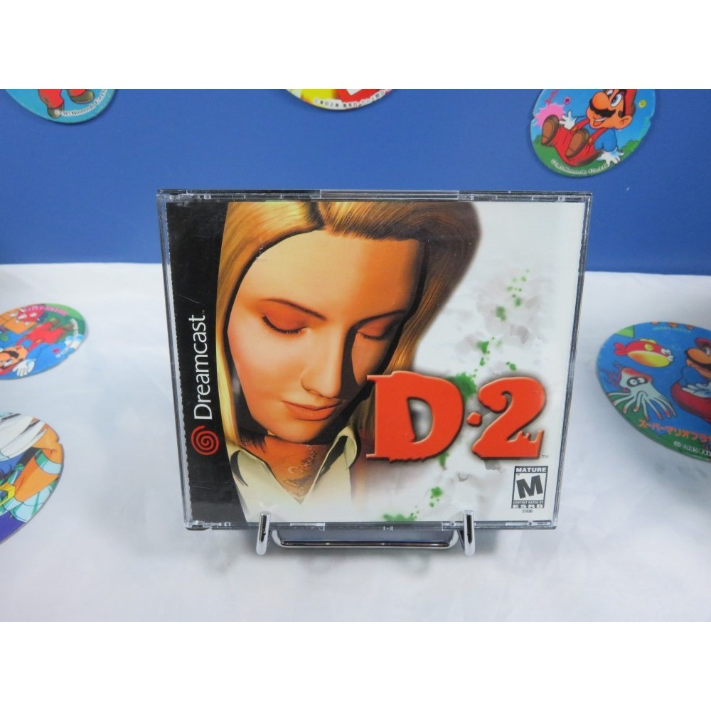 D2 DREAMCAST NTSC-USA OCCASION