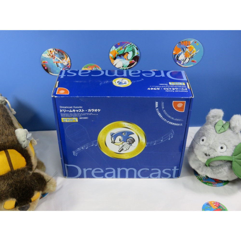 DREAMCAST KARAOKE MULTIMEDIA SYSTEM JPN NEW