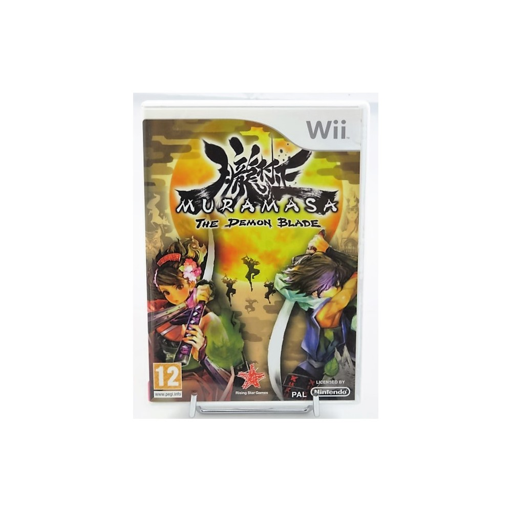 MURAMASA THE DEMON BLADE WII PAL FRA OCCASION2