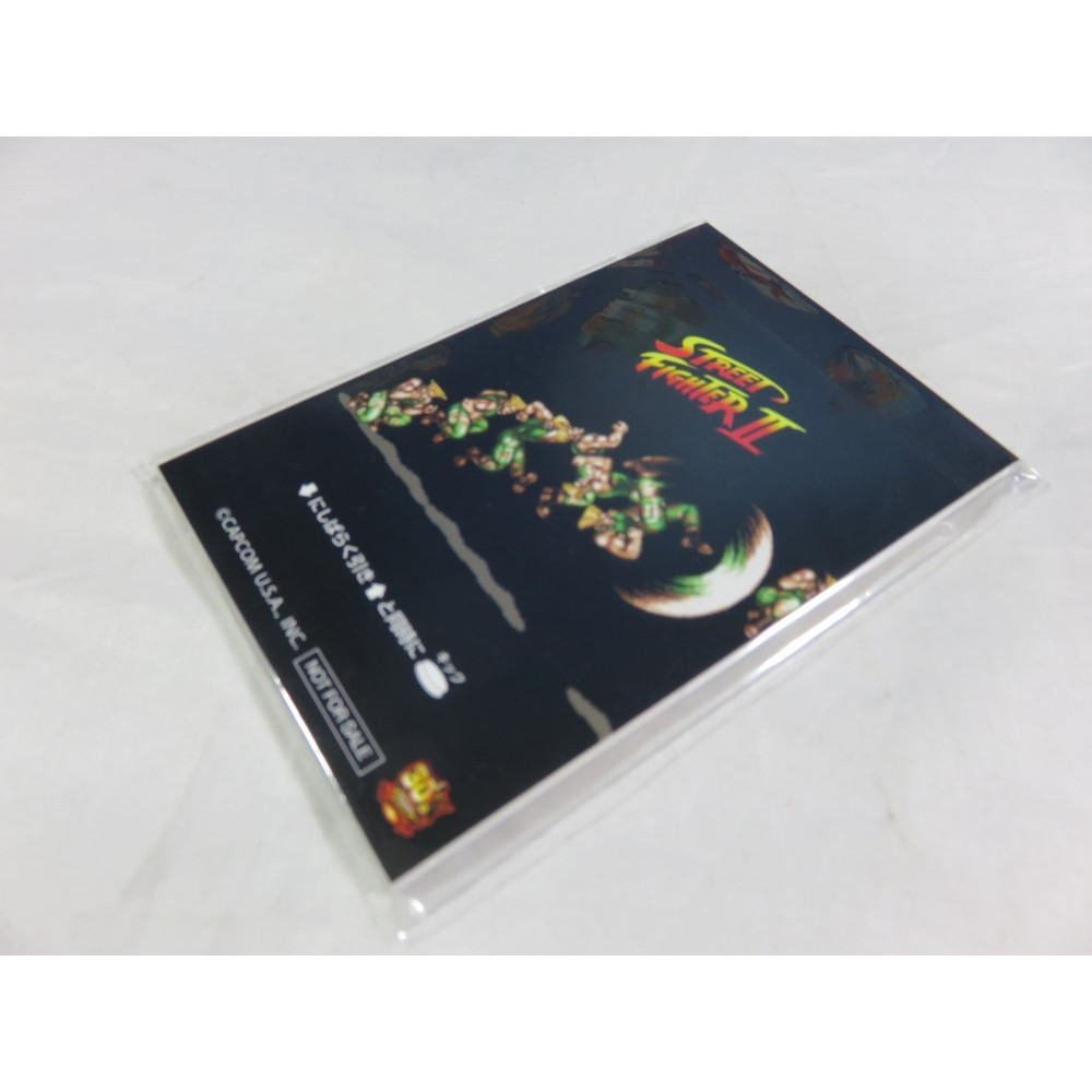 MINI BLOC-NOTES STREET FIGHTER II GUILE EDITION (STREET FIGHTER 30TH ANNIVERSARY) NEW
