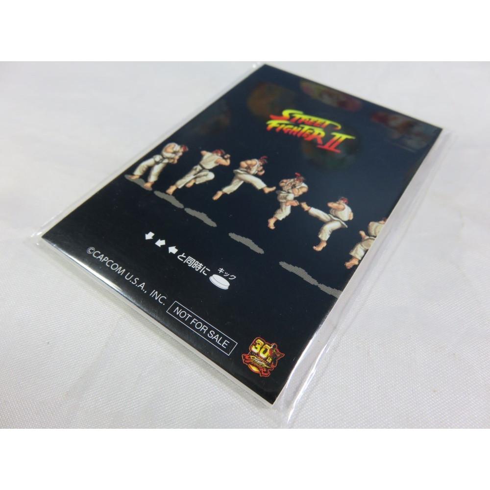 MINI BLOC-NOTES STREET FIGHTER II RYU EDITION (STREET FIGHTER 30TH ANNIVERSARY) NEW