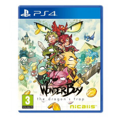 WONDER BOY THE DRAGON S TRAP PS4 FR OCCASION