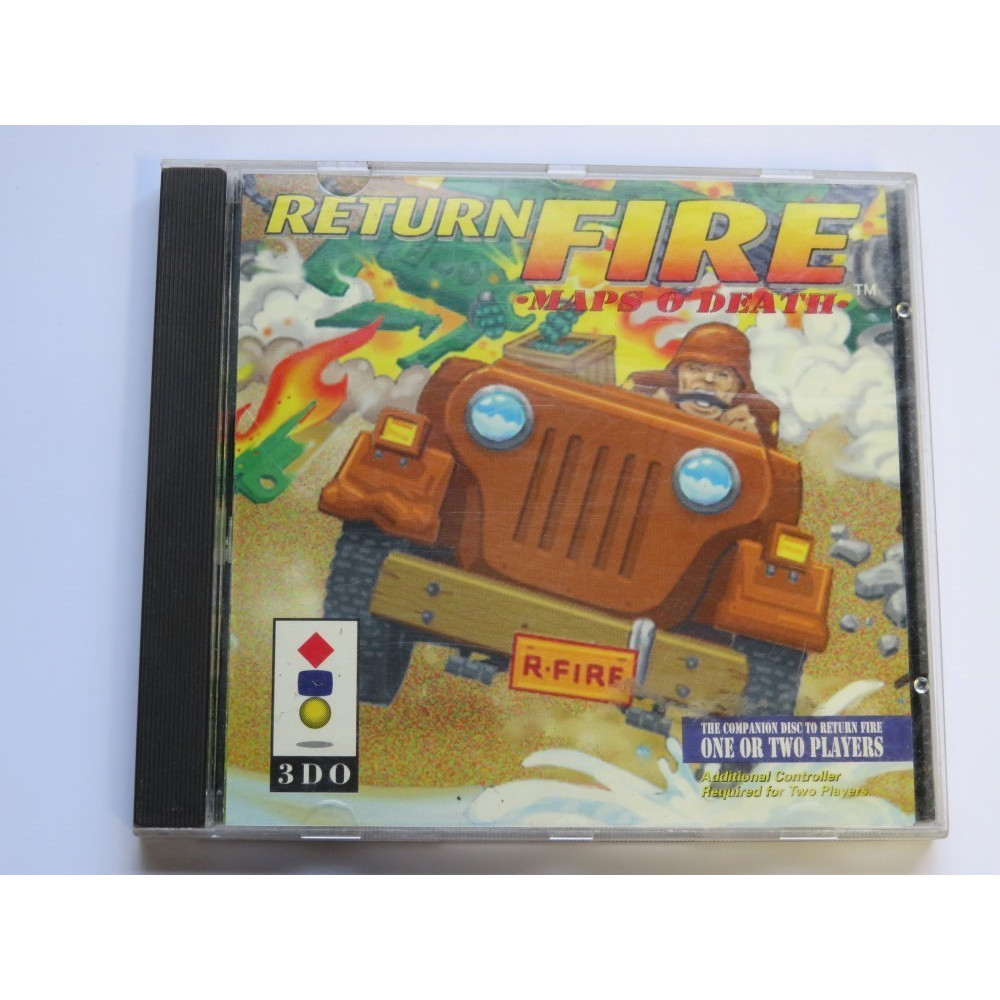 RETURN FIRE MAPS 0 DEATH 3DO USA OCCASION (ETAT B)