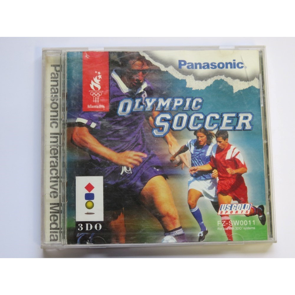 OLYMPIC SOCCER 3DO NTSC-USA OCCASION (ETAT B)
