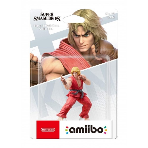 AMIIBO SUPER SMASH BROS KEN FR NEW