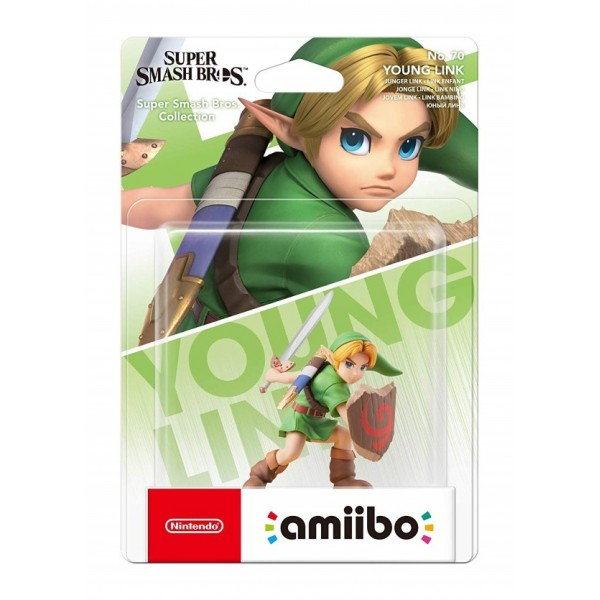 AMIIBO SUPER SMASH BROS YOUNG LINK FR NEW