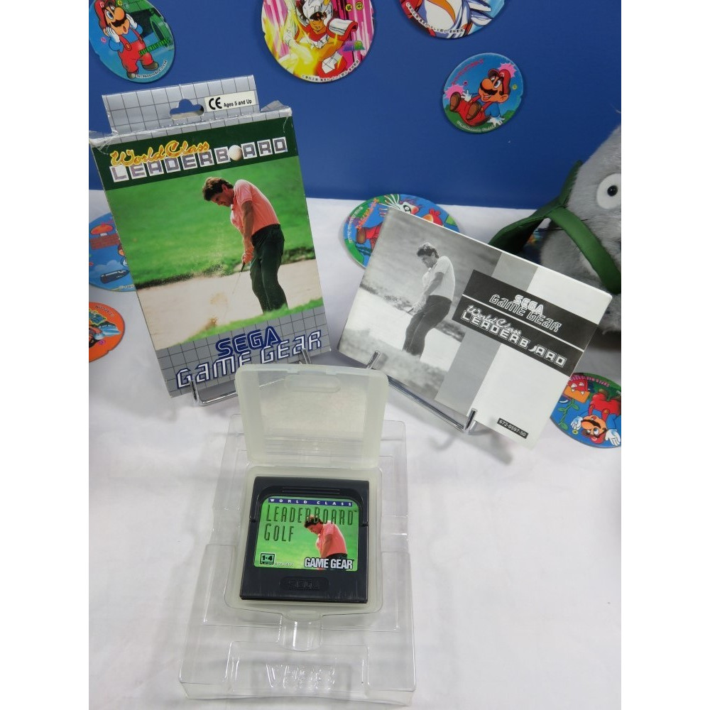 WORLD CLASS LEADERBOARD GAME GEAR EURO OCCASION