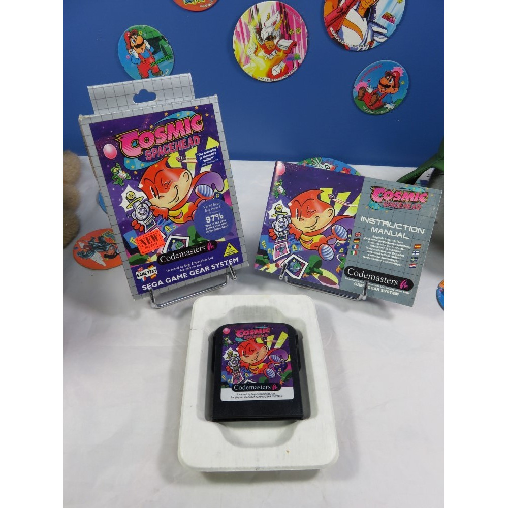 COSMIC SPACEHEAD GAME GEAR EURO OCCASION