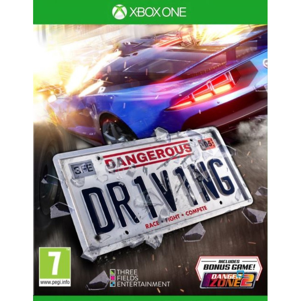 DANGEROUS DRIVING XBOX ONE FR OCCASION