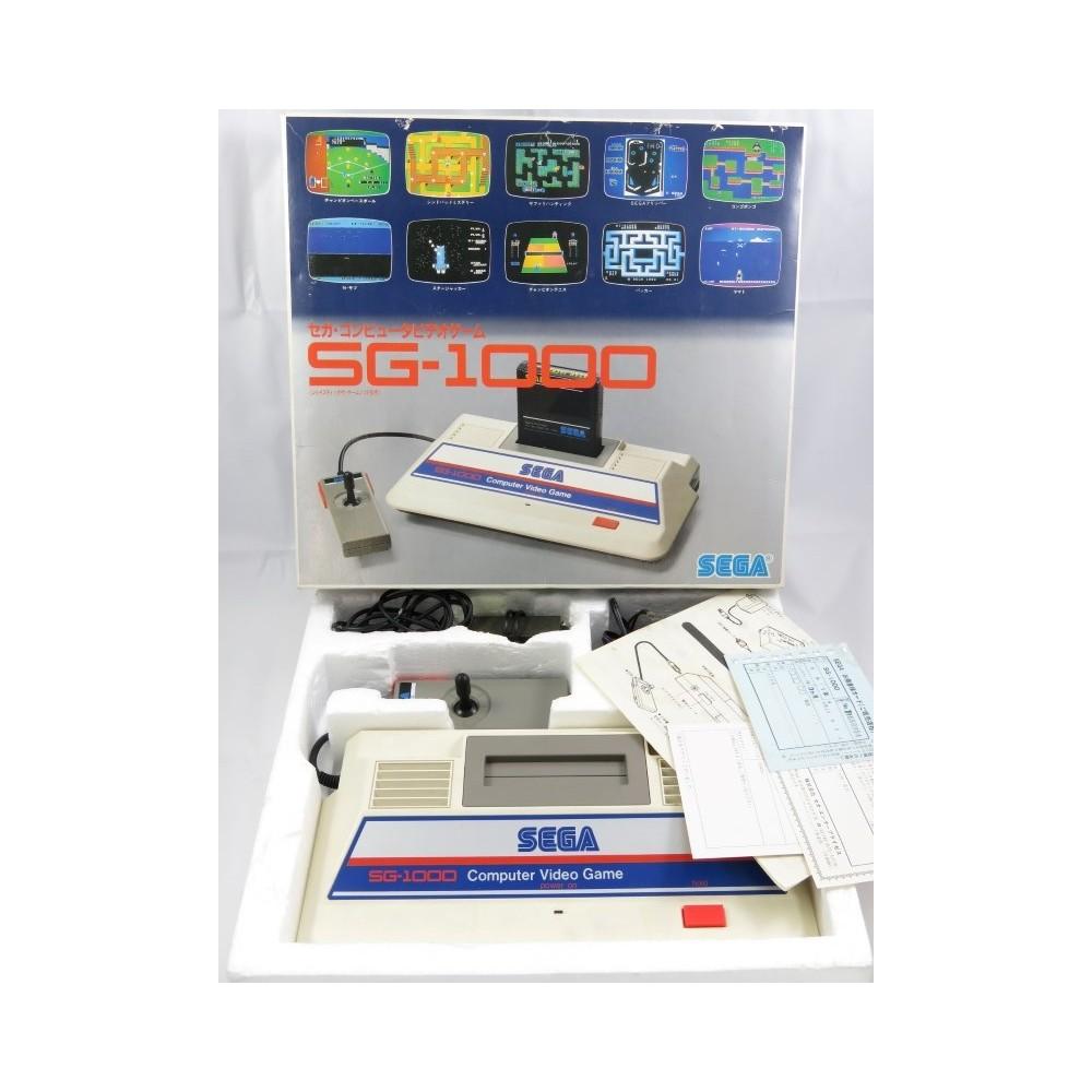 CONSOLE SEGA SG-1000 (BIG LOGO) NTSC-JPN UHF (COMPLETE)