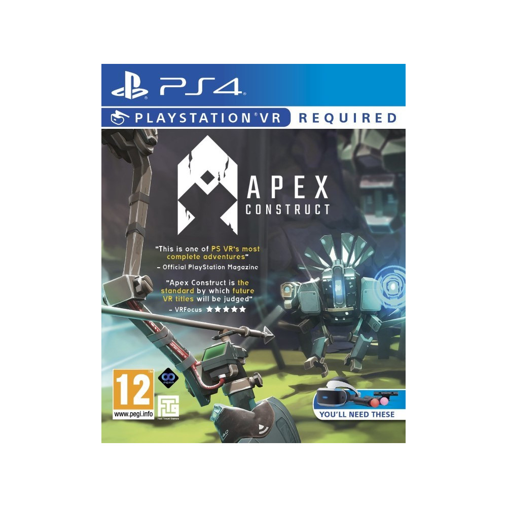 APEX CONSTRUCT VR PS4 UK NEW