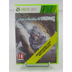 METAL GEAR RISING REVENGEANCE (PROMOTIONAL COPY) XBOX 360 PAL-UK NEW