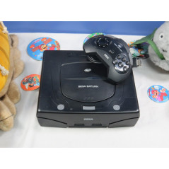 CONSOLE SATURN BLACK (2ND MODELE) MODIFIEE REGION FREE (+ LECTURE BACK UP) EURO OCCASION