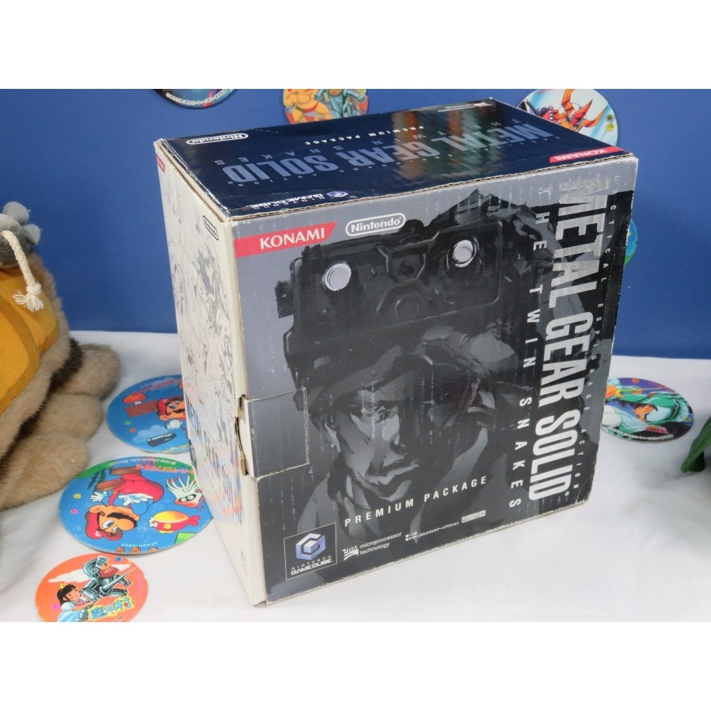 CONSOLE GAMECUBE METAL GEAR SOLID LIMITED EDITION NTSC-JPN OCCASION