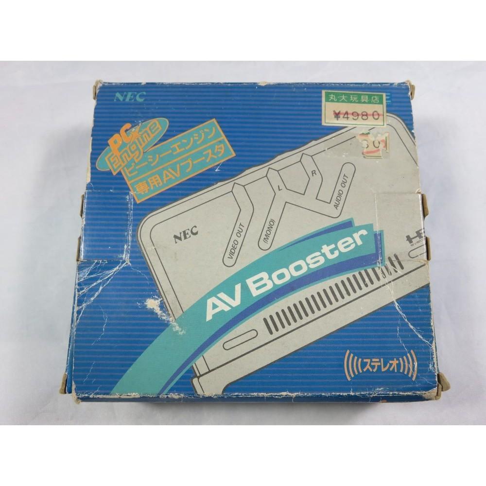 AV BOOSTER NEC PC ENGINE PI-AD2 OFFICIEL AVEC CABLES & BOITE