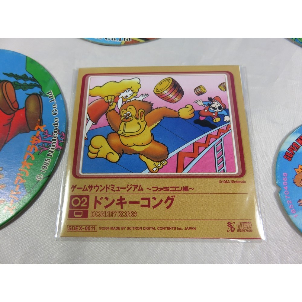 DONKEY KONG GAME SOUND MUSEUM FAMICOM EDITION (02) MINI CD JPN