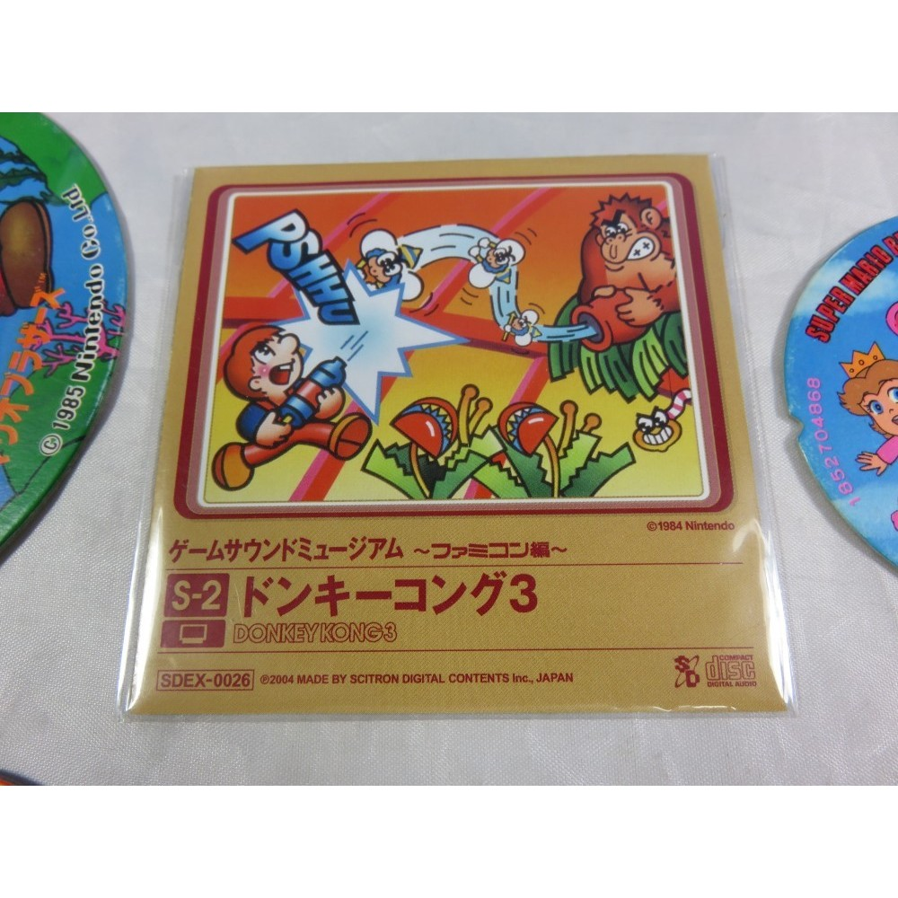 DONKEY KONG 3 GAME SOUND MUSEUM FAMICOM EDITION (S-2) MINI CD JPN
