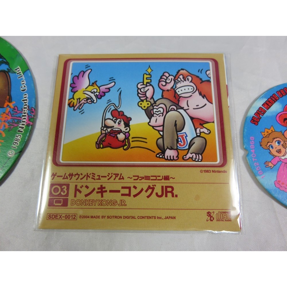 DONKEY KONG JR GAME SOUND MUSEUM FAMICOM EDITION (03) MINI CD JPN