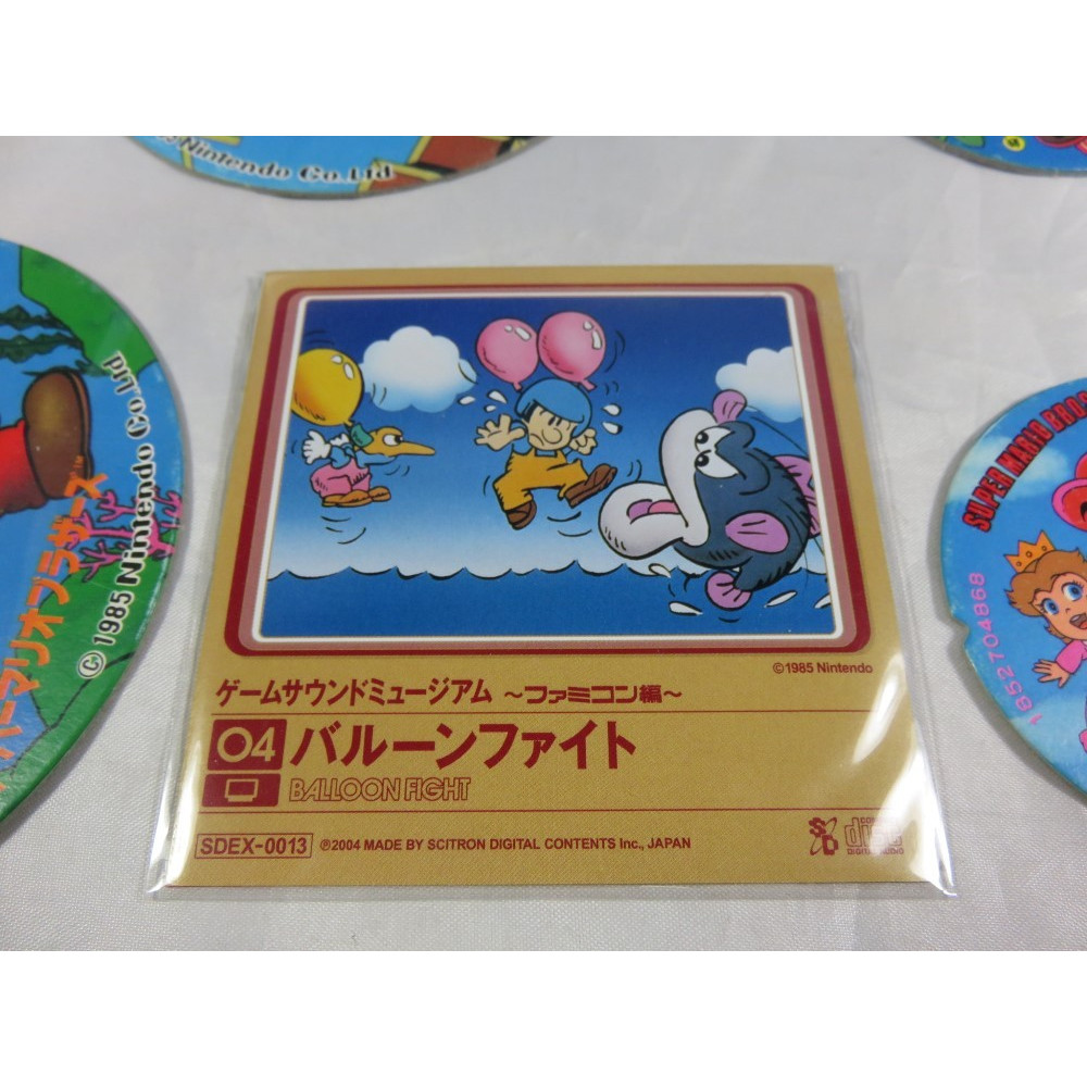 BALLOON FIGHT GAME SOUND MUSEUM FAMICOM EDITION (04) MINI CD JPN