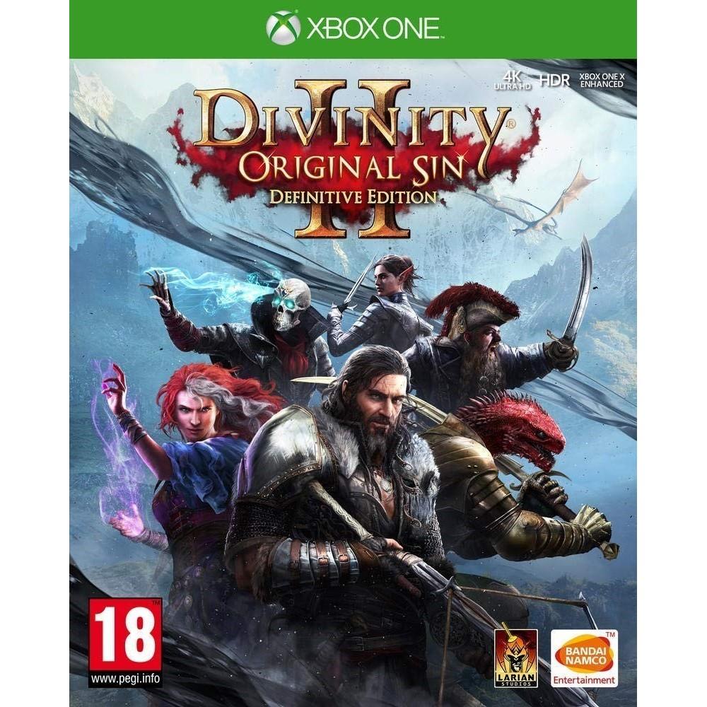 DIVINITY II ORIGINAL SIN DEFINITIVE EDITION XBOX ONE FR OCCASION