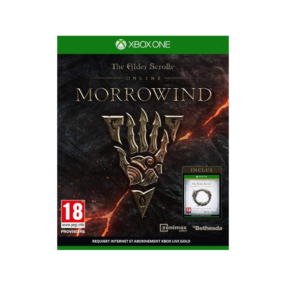 THE ELDER SCROLLS ONLINE MORROWIND XBOX ONE FR NEW