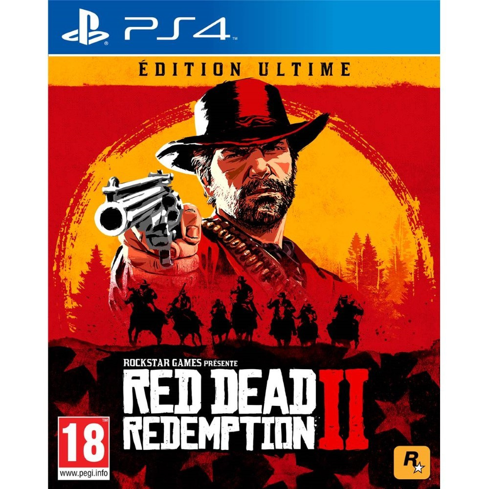RED DEAD REDEMPTION 2 EDITION ULTIMATE PS4 FR OCCASION