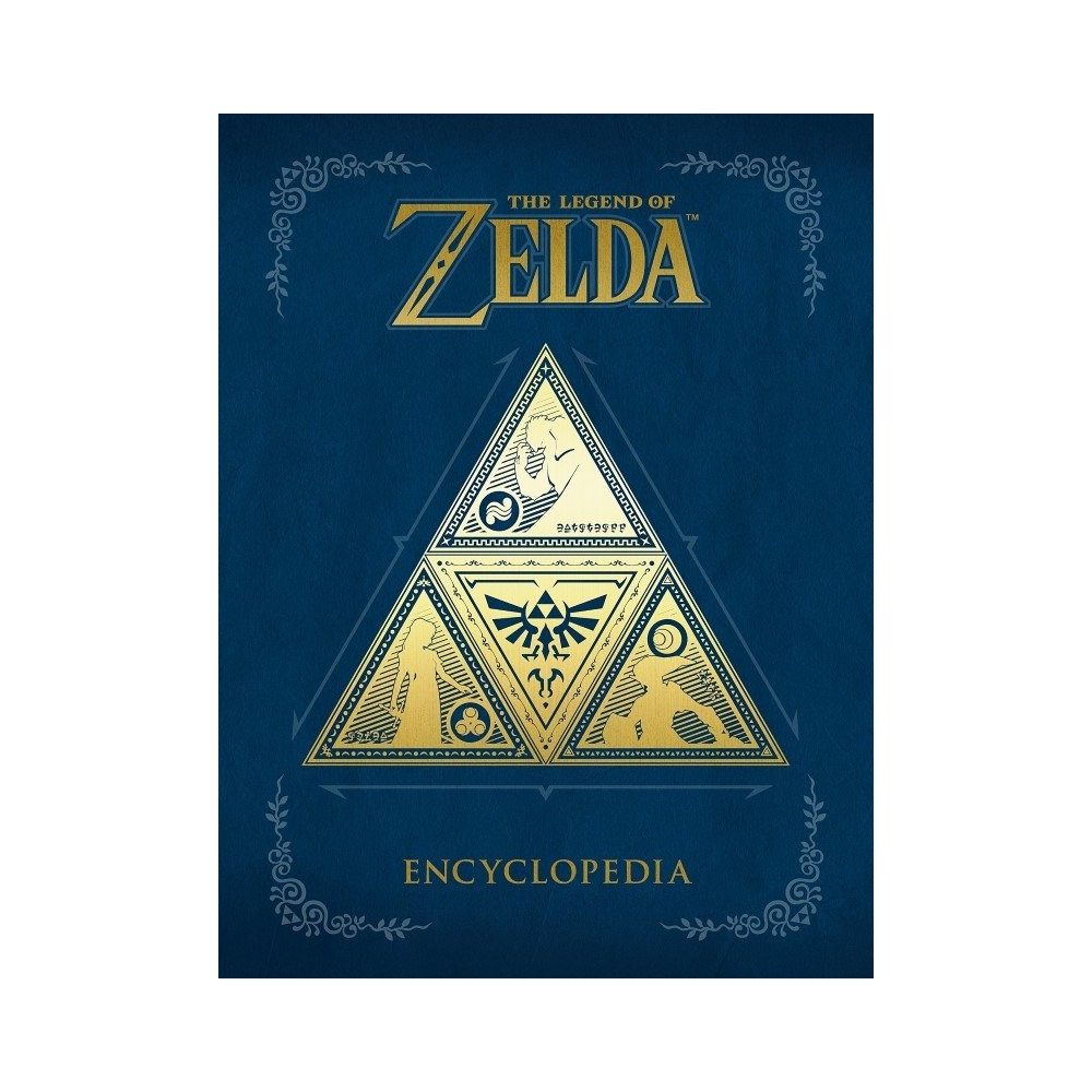 THE LEGEND OF ZELDA ENCYCLOPEDIA UK NEW