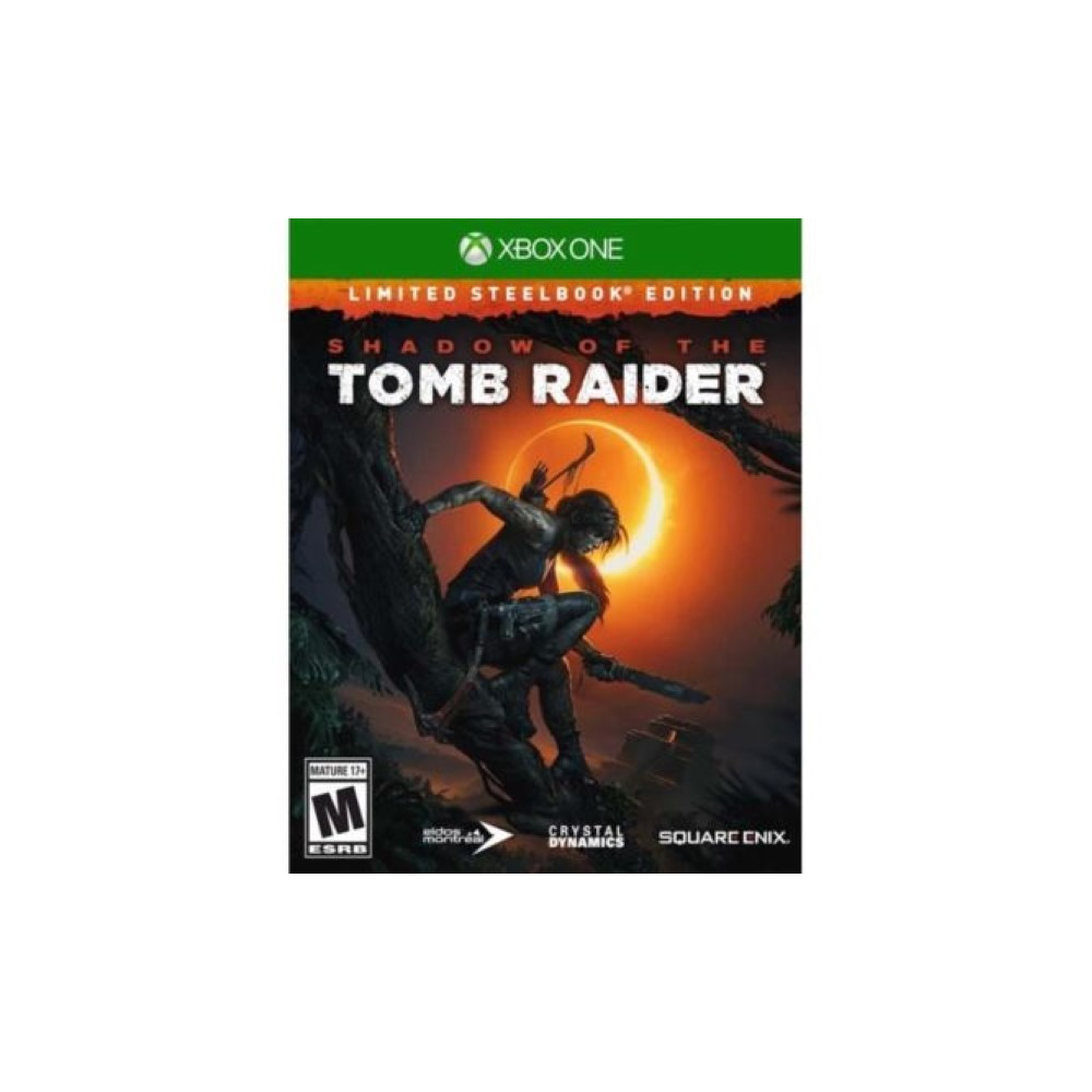 SHADOW OF THE TOMB RAIDER EDITION STEELBOOK XBOX ONE FR OCCASION