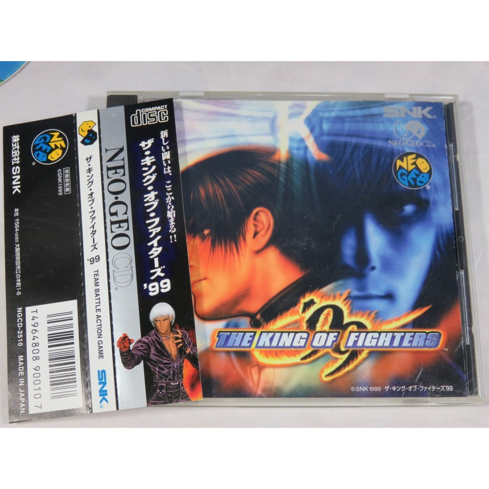 THE KING OF FIGHTERS 99 (+SPINE) NEO GEO CD JPN OCCASION (ETAT B)