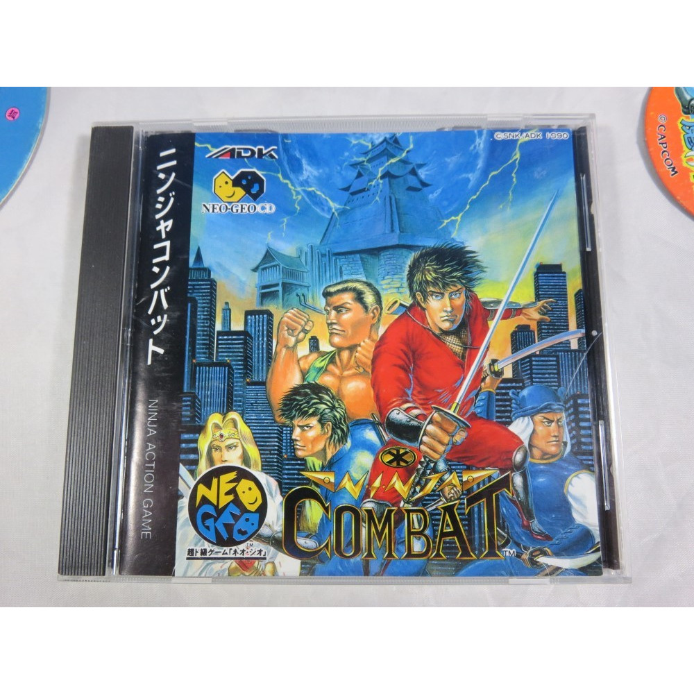 NINJA COMBAT NEO GEO CD JPN OCCASION (ETAT B)