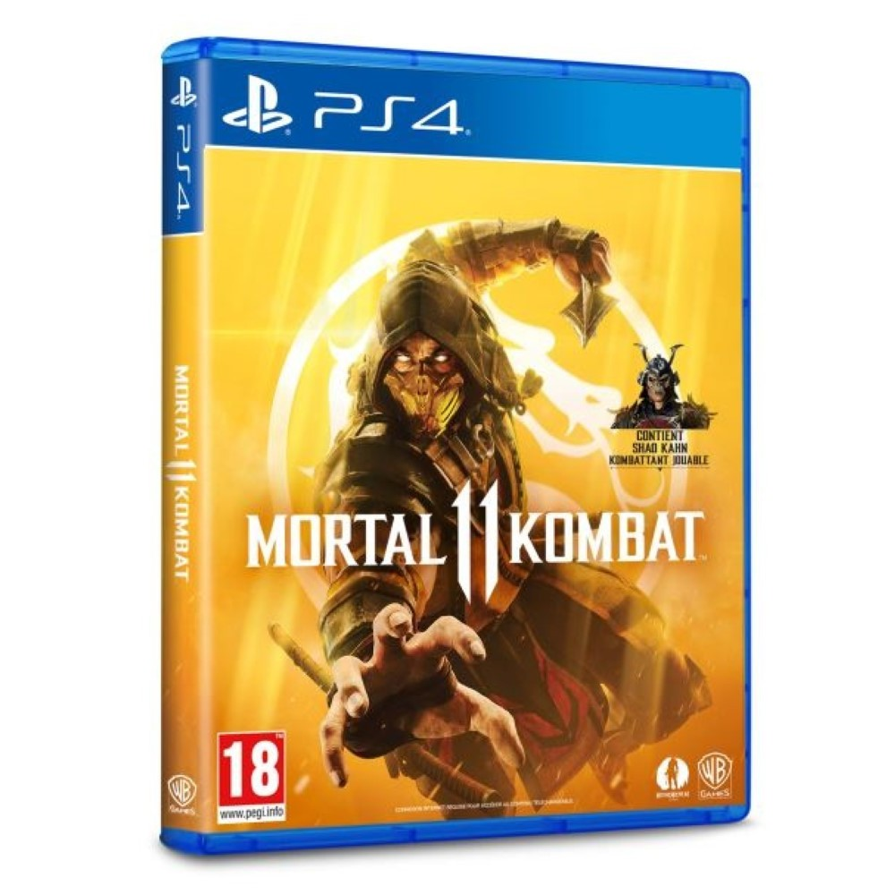 MORTAL KOMBAT XI PS4 EURO FR NEW