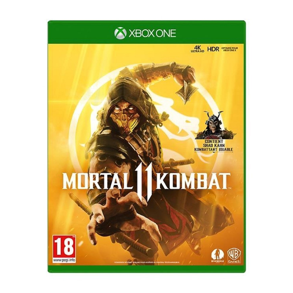 MORTAL KOMBAT XI XBOX ONE EURO FR NEW